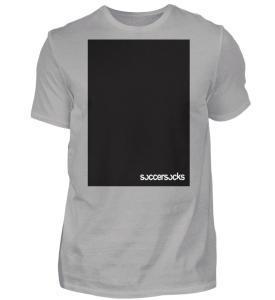 "Soccersocks ""Black Bar"" - Herren Premiumshirt-2998"
