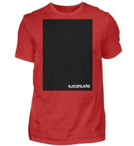 "Soccersocks ""Black Bar"" - Herren Premiumshirt-4"