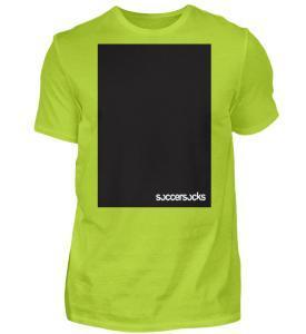 "Soccersocks ""Black Bar"" - Herren Premiumshirt-2885"