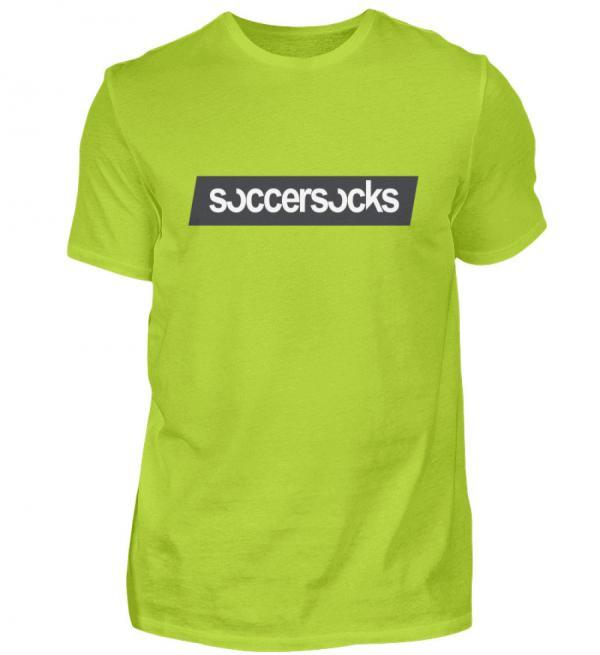 "Soccersocks ""Logo Bar"" Shirt - Herren Premiumshirt-2885"