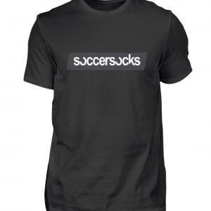 "Soccersocks ""Logo Bar"" Shirt - Herren Premiumshirt-16"