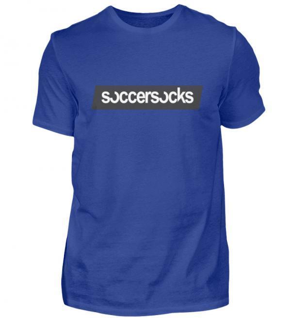 "Soccersocks ""Logo Bar"" Shirt - Herren Premiumshirt-27"