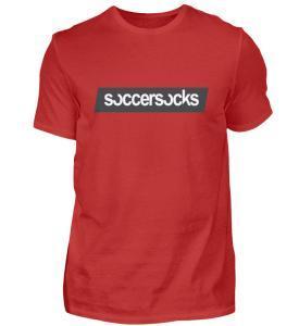 "Soccersocks ""Logo Bar"" Shirt - Herren Premiumshirt-4"