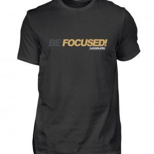 "Soccersocks ""Be Focused!"" Shirt - Herren Premiumshirt-16"