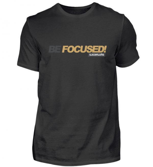"Soccersocks ""Be Focused!"" Shirt - Herren Premiumshirt-16"