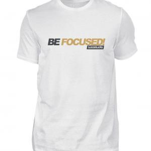 "Soccersocks ""Be Focused!"" Shirt - Herren Premiumshirt-3"