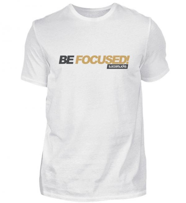 "Soccersocks ""Be Focused!"" Shirt - Herren Premiumshirt-3"