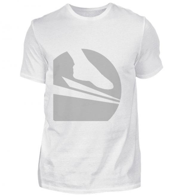 "Soccersocks ""Logo Global Grey"" - Herren Premiumshirt-3"