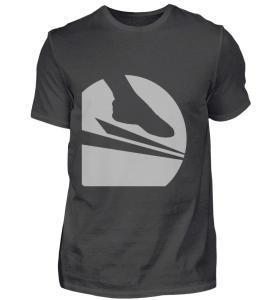 "Soccersocks ""Logo Global Grey"" - Herren Premiumshirt-2989"