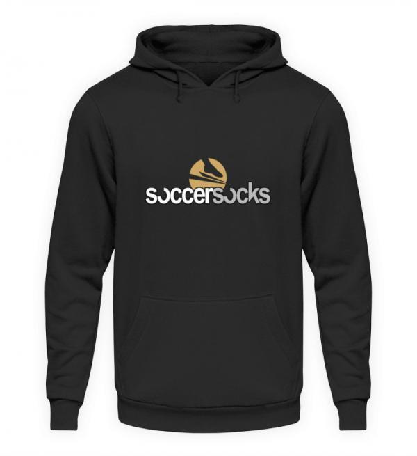 "Soccersocks ""Logo Classic"" - Unisex Kapuzenpullover Hoodie-1624"